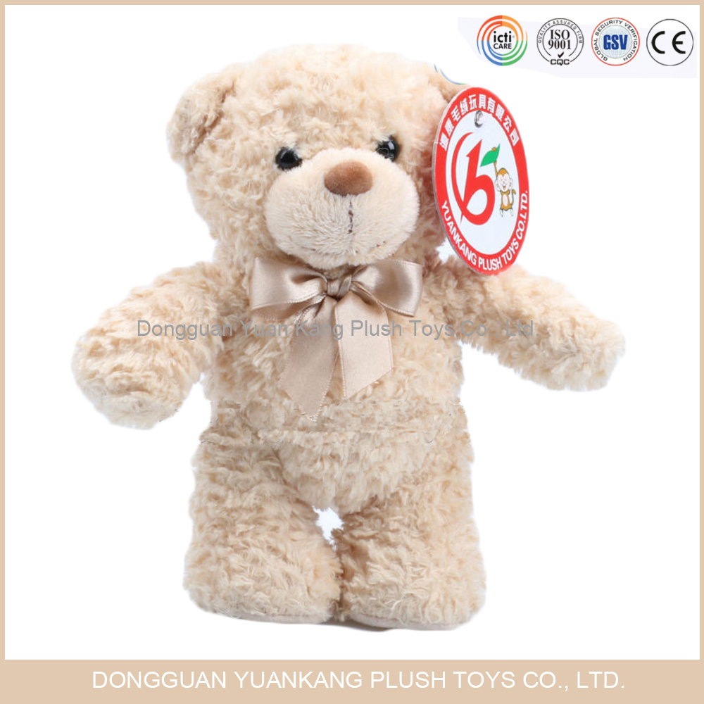 wholesale 100% cotton 12 inch personalized stuffed teddy bear
