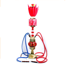 New Design 85CM High Quality glass Hookah With LED New Hookah In China