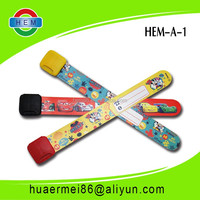 Good Pvc Material Kid gift pvc wristband