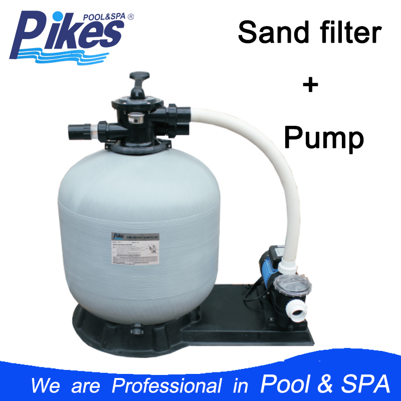 Pikes PSF series water pump with sand filter for small pool water filtration