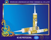 Waterproof high quality aluminum and glass silicone sealants