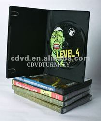 American DVD Movie in one black amaray dvd cases