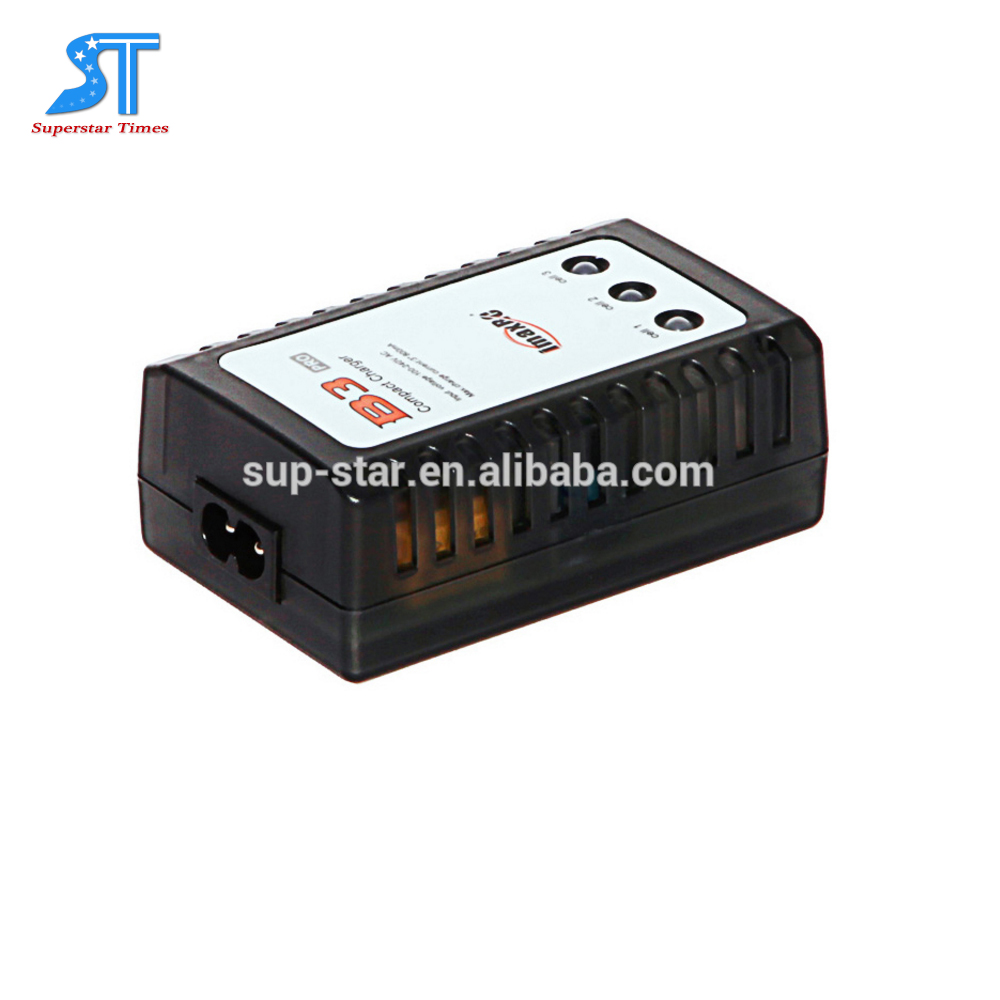High quality wholesale price 7.4v 11.1v Li-polymer LiPO RC Battery Charger 2S 3S Cells Imax B3