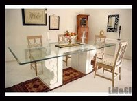 MARBLE FURNITURE DINING TABLE STAND AND TABLE TOPS