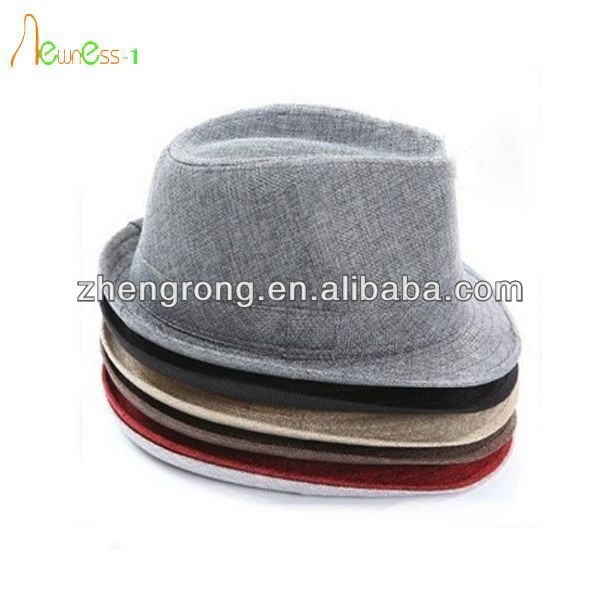 New Arrival Cheap Fedora Hat For Wholesale