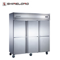 Horizontal Style Static Cooling Reach-In Kitchen Big Refrigerator Freezer