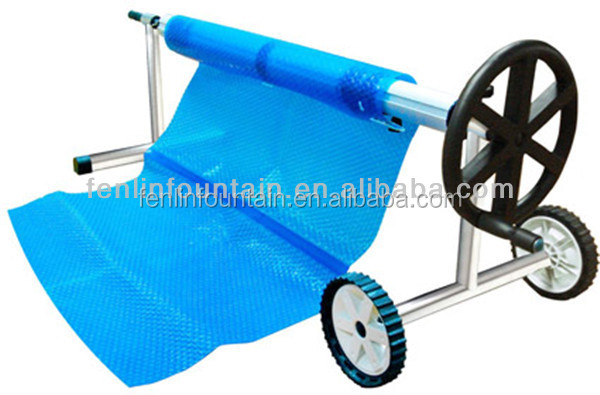 Hard Plastic Swimming Pool Cover Stainless Steel Cover Roller Reel