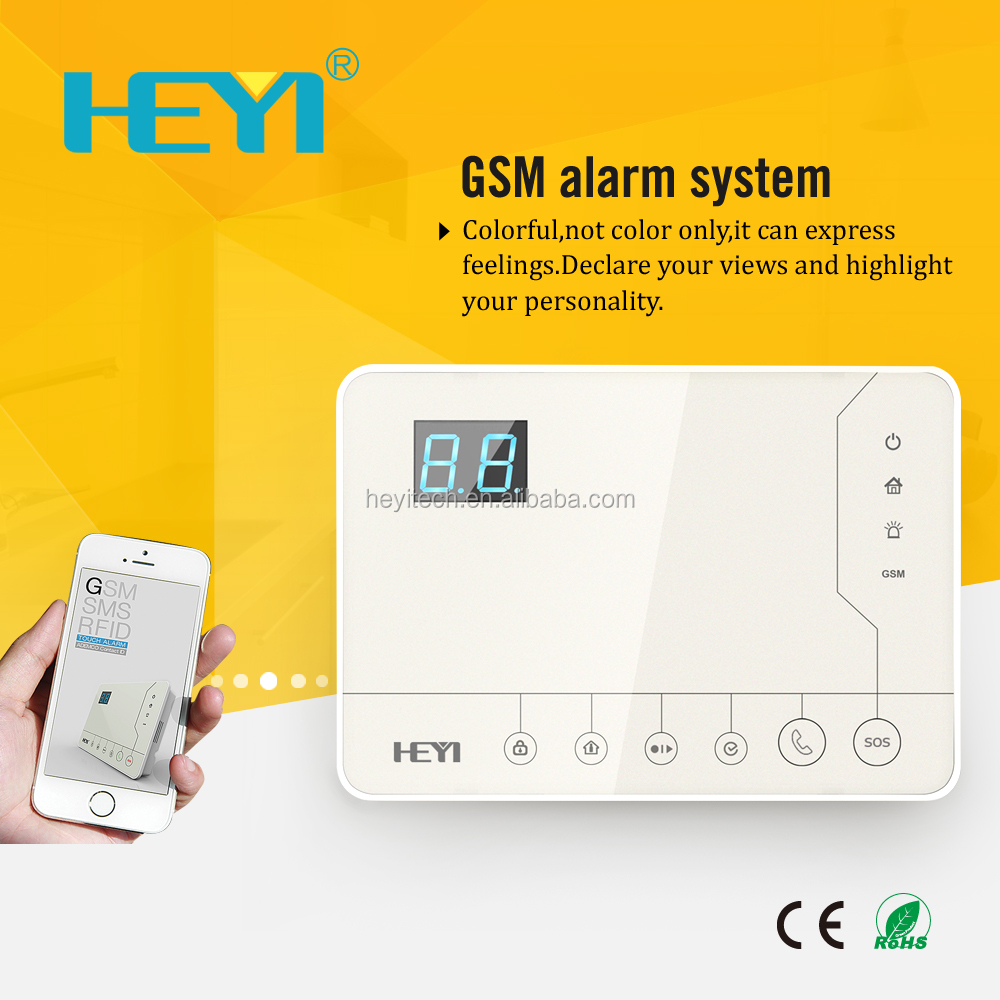 GSM <strong>Alarm</strong> System with Touch Keypad and Wireless <strong>Alarm</strong>