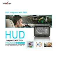 2015 Hot model with Trade assurance Car HUD head up display speedometer smart car parking system