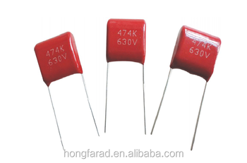 MPD Dipped metallized polypropylene film capacitor CBB22