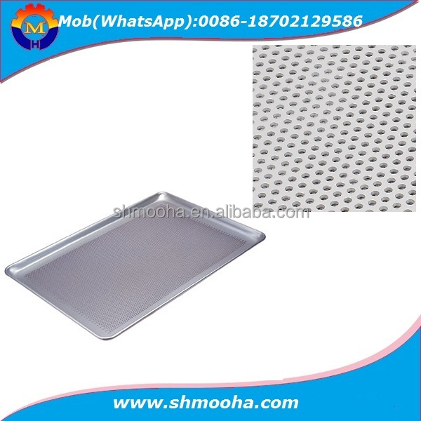 Perforated Metal Baking Trays