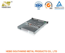 Customized Surface Polish Sheet Metal Stamping Computer Chassis Part Fabrication