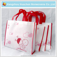 Hangzhou Manufacture Directly Sale PP Nonwoven Bag For Shopping