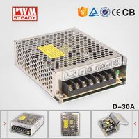 D-30A dual voltage 12v 5v power supply 5v 12v switching power supply dual output with CE approved