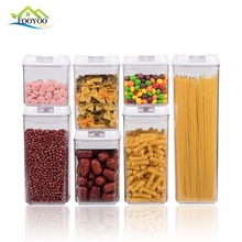 7 Piece container household Food Storage Container set,BPA free food container,Disposable plastic food container with lid