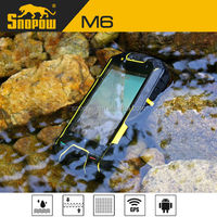 Snopow M6 IP68 waterproof phone with physical button 3.5 inches mt6572 dual-core android 4.2 4g rom smartphone