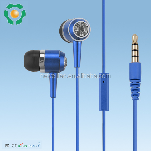Wired Communication and Mobile Phone Use cheap earphones with mic