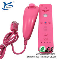 Wired nunchuk game pad for wii/wiiu