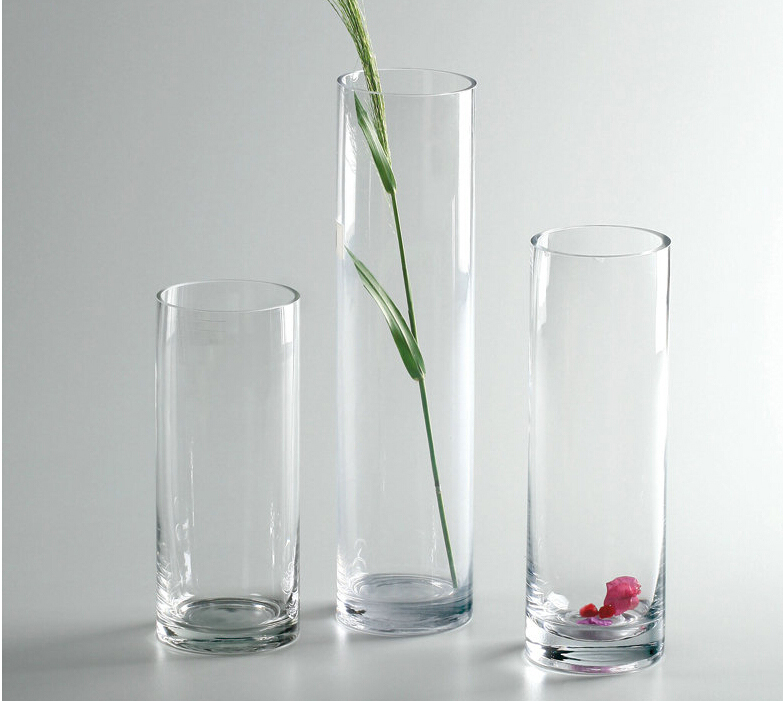 clear glass vase acrylic vase tall glass vases