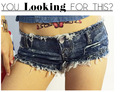 Women's new summer influx of European and American ultra-short denim shorts nightclub ladies big yards was thin trade
