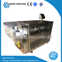 Mini automatic plastic ampoule forming filling sealing machine/oral and syrup liquid filling machine