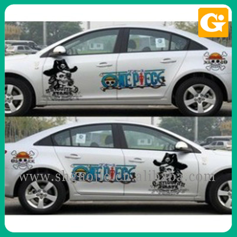Car Motor Body Sticker Poster Printing
