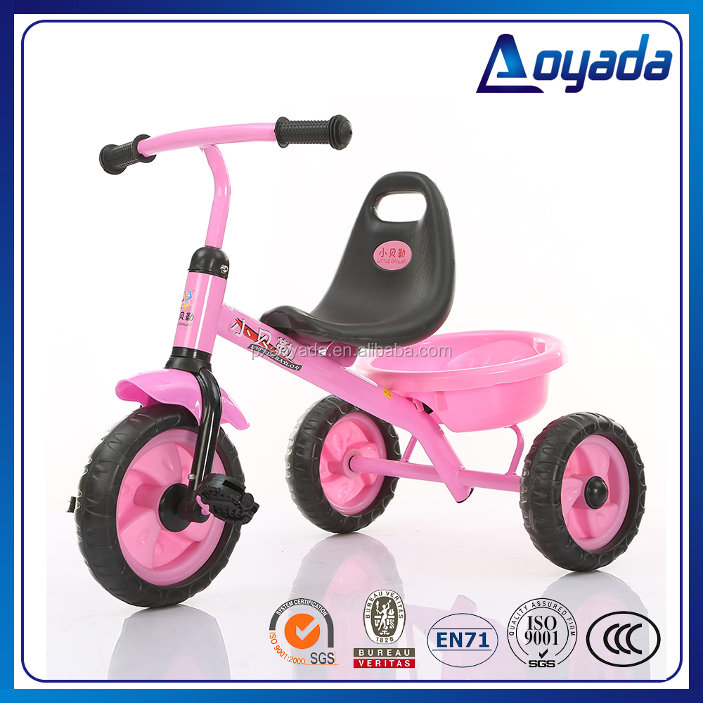 Hot sale kids tricycle ride on cars/ mini metal car toy kids / mini kids ride on car