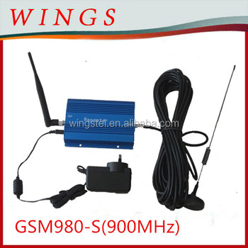 GSM980-S signal repeater+power adaptor+outdoor sucker antenna with 10m cable+whip antenna+all connectors