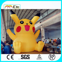 CILE 2015 hot selling inflatable Pikachu customization model (advertising, sales promotion, simulator, events)