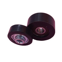miniature plastic roller deep groove ball bearing 6008 polyurethane skateboard wheels zz809 163110 2rs