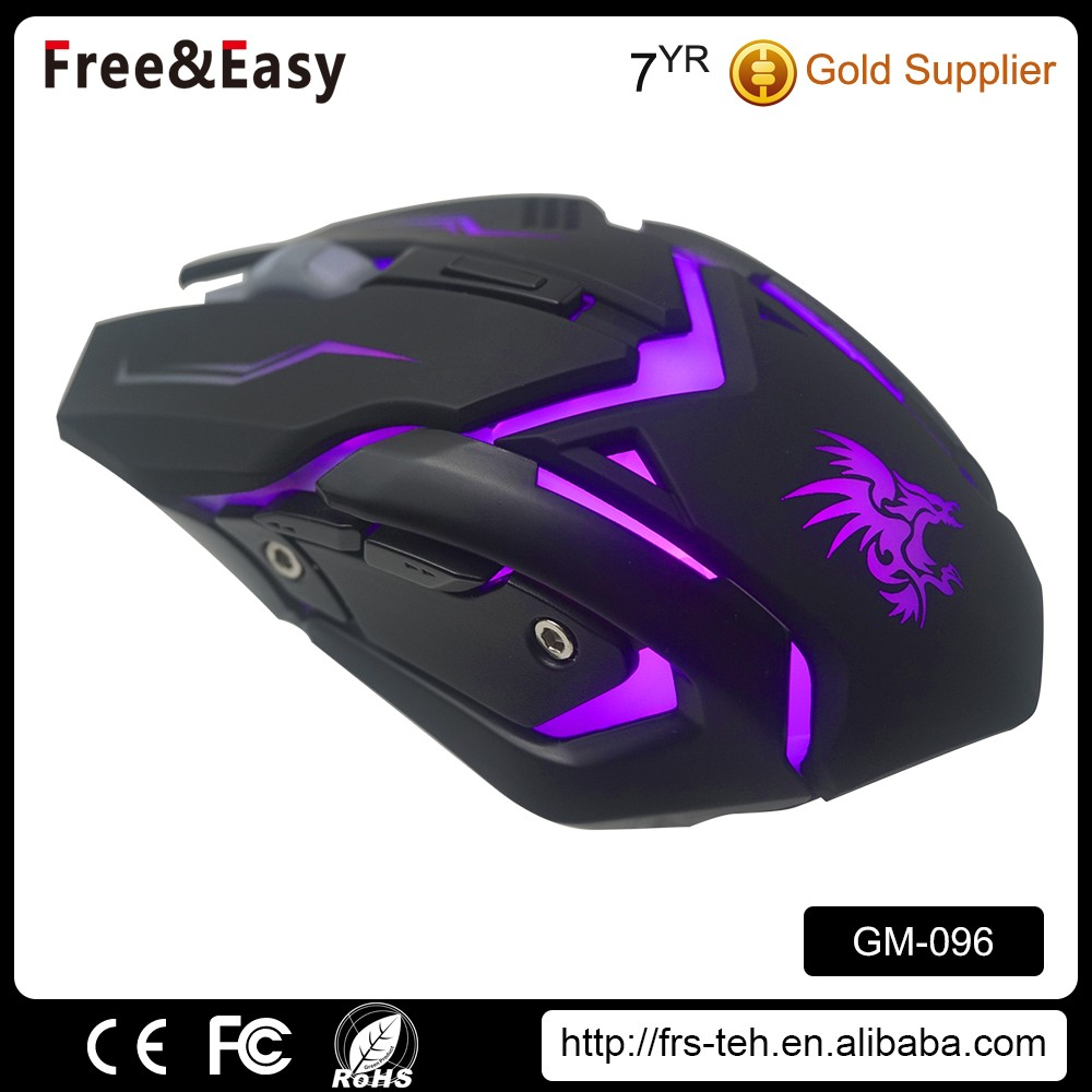 High Quality 6 Buttons Wired Optical Gaming Mouse