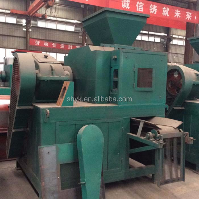hexagon shape coal dust aluminium powder briquette machine