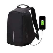 2017 Multi-Function Large Capacity Travel Anti-theft Security Casual Backpack Laptop Computer Bag with External USB Charging Bag