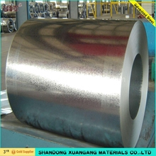 Hot rolled Big Small Spangle z275 Galvanized steel coil