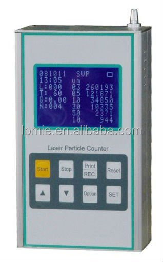Y09-6H hand particle counter in clean room