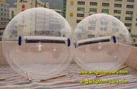 1.0mm PVC 2m dia water bubble ball inflatable aqua walking ball cheap prices for sale