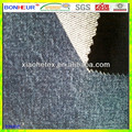 7x7 100%cotton mercerized denim for workwear jacket dark indigo denim