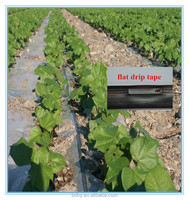 Drip irrigation black plastic water pipe roll