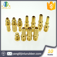Alibaba high quality golden brass fitting for swivel hose connection