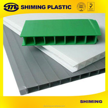 colorful 4*8 coroplast/ pp corrugated plastic sheet/pp hollow corrugated sheet