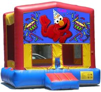 Elmo Bounce House Inflatable Jumper Art Panel Theme Banner 13' x 13' (No Bounce House)