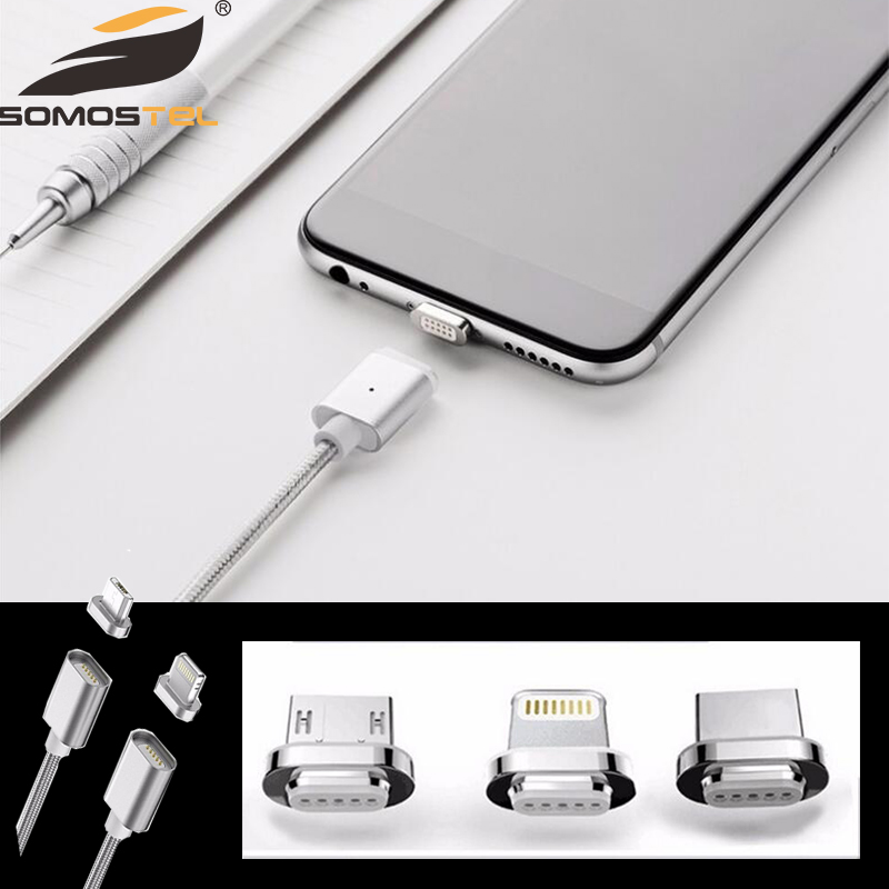CE Certified Fast Speed Phone Magnetic Charging Data Cable Micro USB Cable android