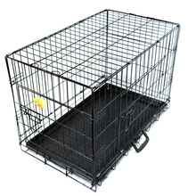 Soft Crate Carrier stainless steel car dog cage