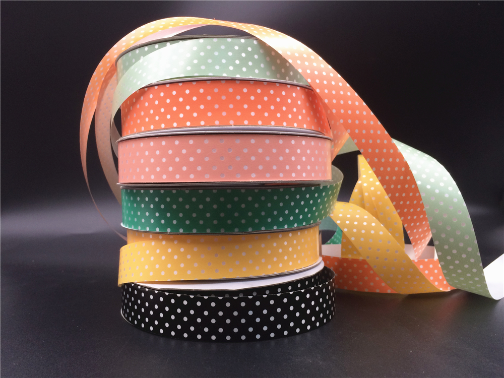 Wholesale cheap korea plastic ribbon roll for book cover