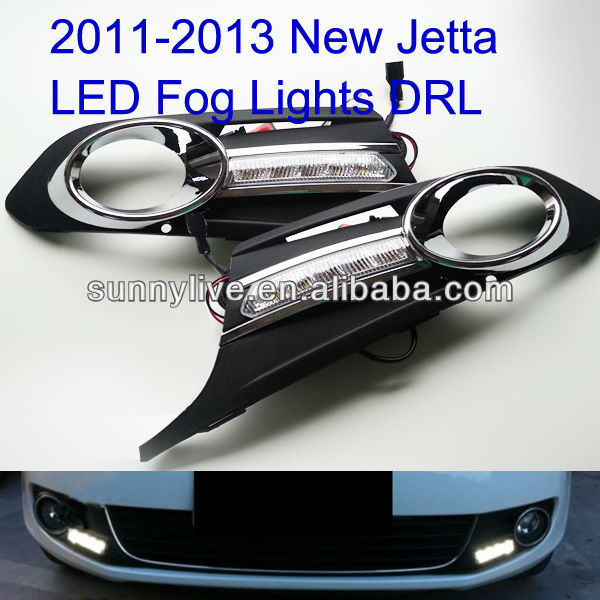 2011-2013 New Jetta LED Daytime Running Light For Fog Light V1 Type