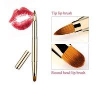 Single Retractable Lip Brush For Lipstick and Lip Balm