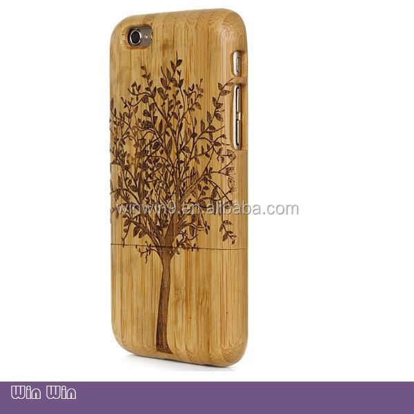 hot sale wooden universal phone case, silicone phone case