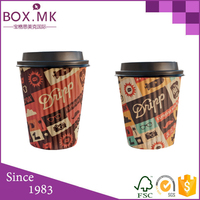 Food Grade Disposable 8oz Pla using hot coffee paper cup