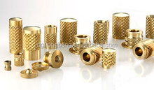 Plastic Moulding Inserts,Threaded Knurled Brass Inserts