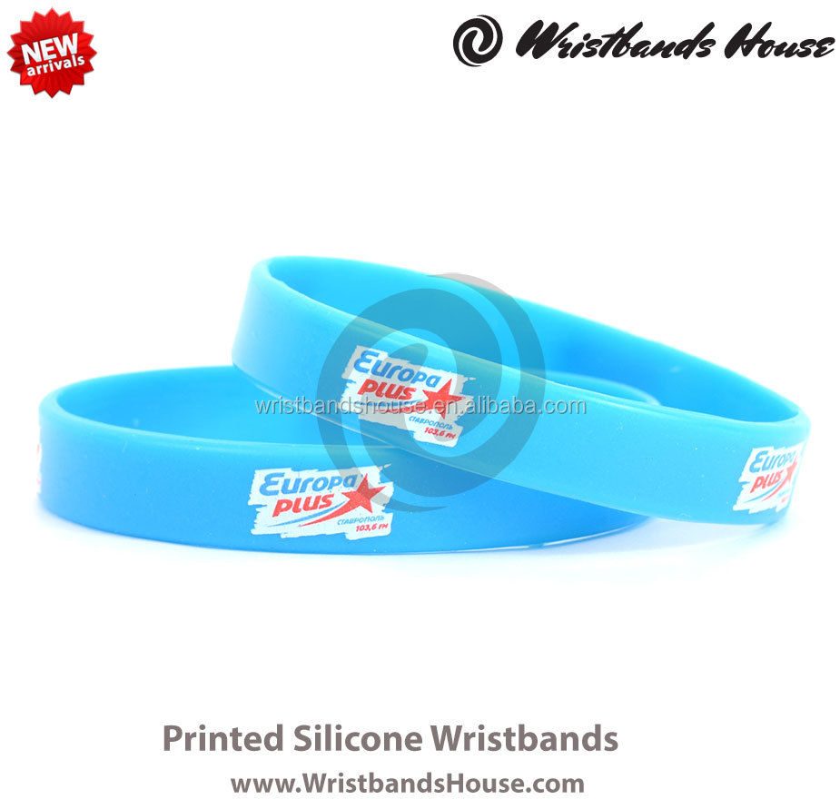 24hours blue good quality wristband | 24hours wristbands printed bands | 24hours wristbands Customized printed silicone bracelet